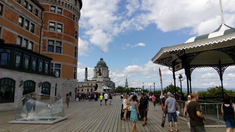 Cidade velha de Québec foto de stock royalty free