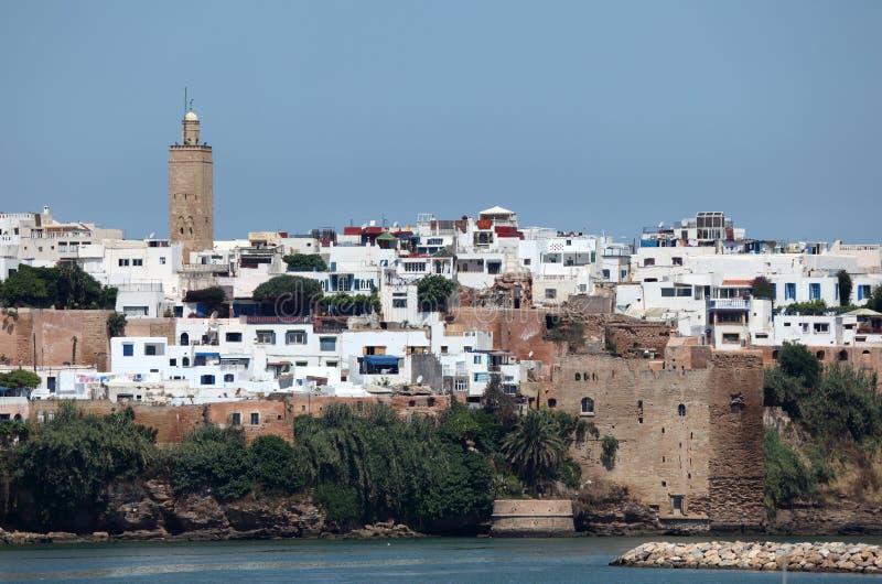 Cidade velha de Rabat, Marrocos fotografia de stock