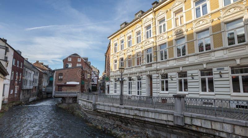 cidade velha de rhineland Alemanha do stolberg imagens de stock