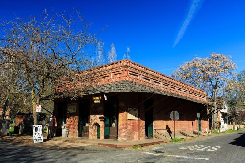 Cidade velha de Sonoma imagens de stock