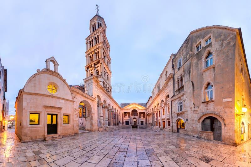 Cidade Velha de Split, Croácia imagens de stock royalty free