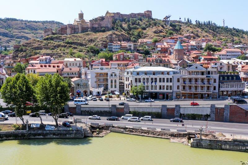 Download Cidade Velha De Tbilisi, Da Capital De Geórgia Foto de Stock Editorial - Imagem de edifício, cultura: 80101873