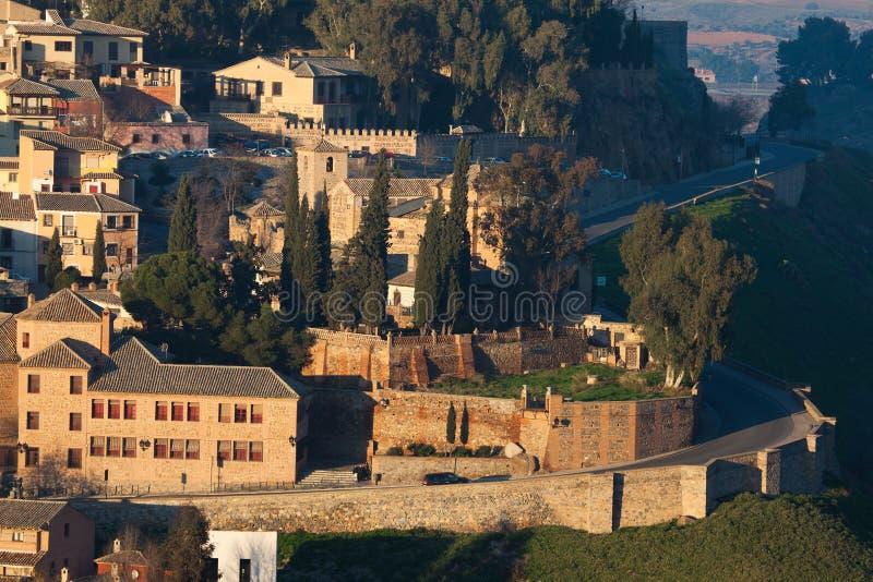 Cidade velha de Toledo foto de stock royalty free