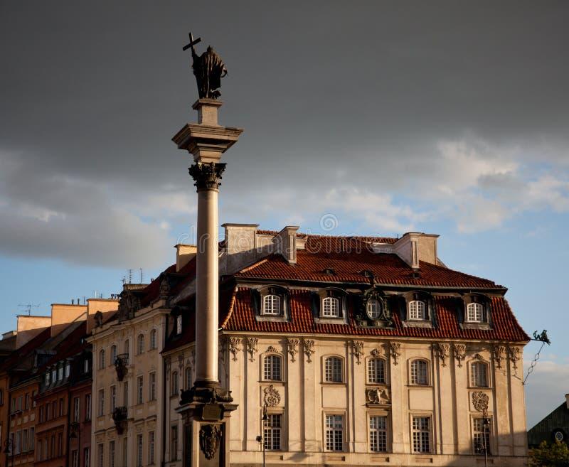 Cidade velha de Varsóvia fotografia de stock royalty free