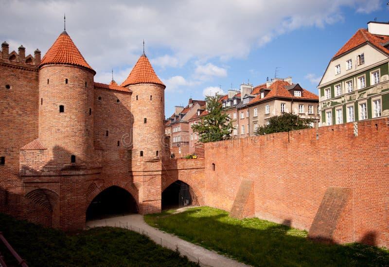 Cidade velha de Varsóvia fotos de stock royalty free