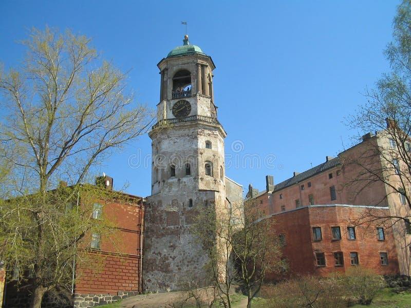 Cidade velha de Vyborg imagens de stock royalty free