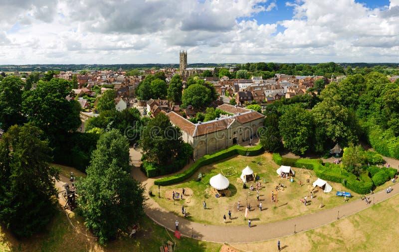 Cidade velha de Warwick fotos de stock royalty free