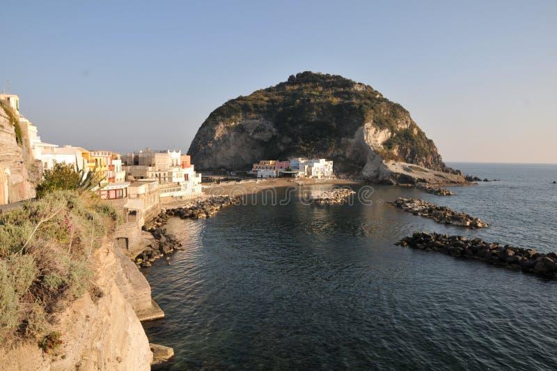 A cidade velha do mar fotos de stock