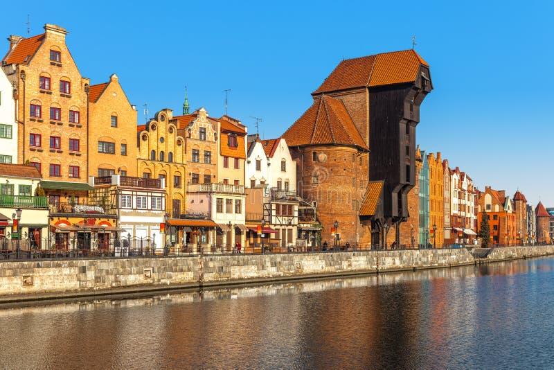Cidade velha em gdansk imagem de stock royalty free