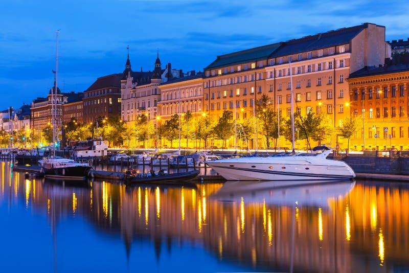 A cidade velha em Helsínquia, Finlandia imagem de stock