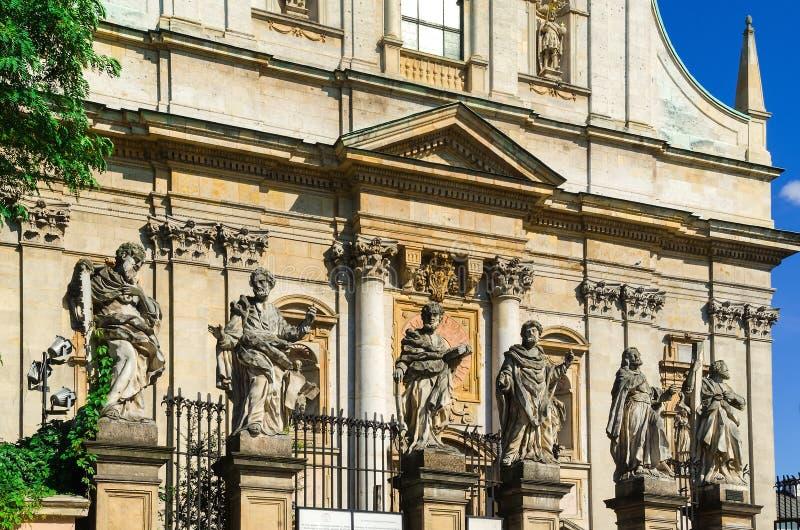 Cidade velha em Krakow, Poland imagem de stock