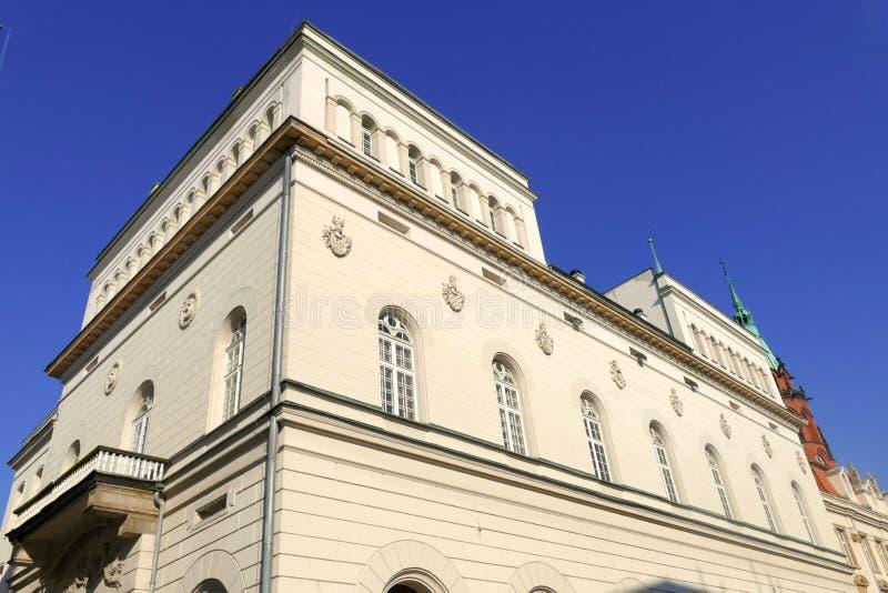 Cidade velha em Legnica 3 imagem de stock