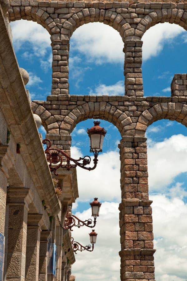 Cidade velha em Spain fotografia de stock royalty free