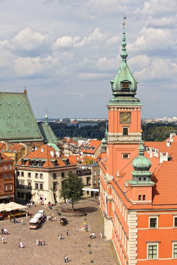 Cidade velha em Varsóvia foto de stock royalty free