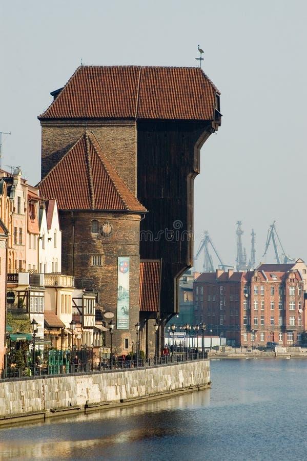 Cidade velha Gdansk/Poland fotos de stock royalty free