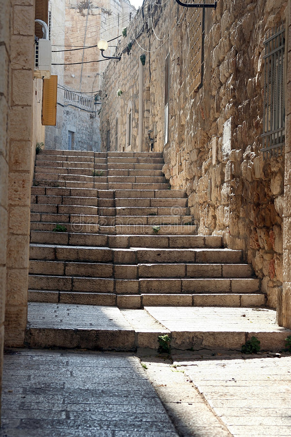 A cidade velha, Jerusalem imagem de stock royalty free