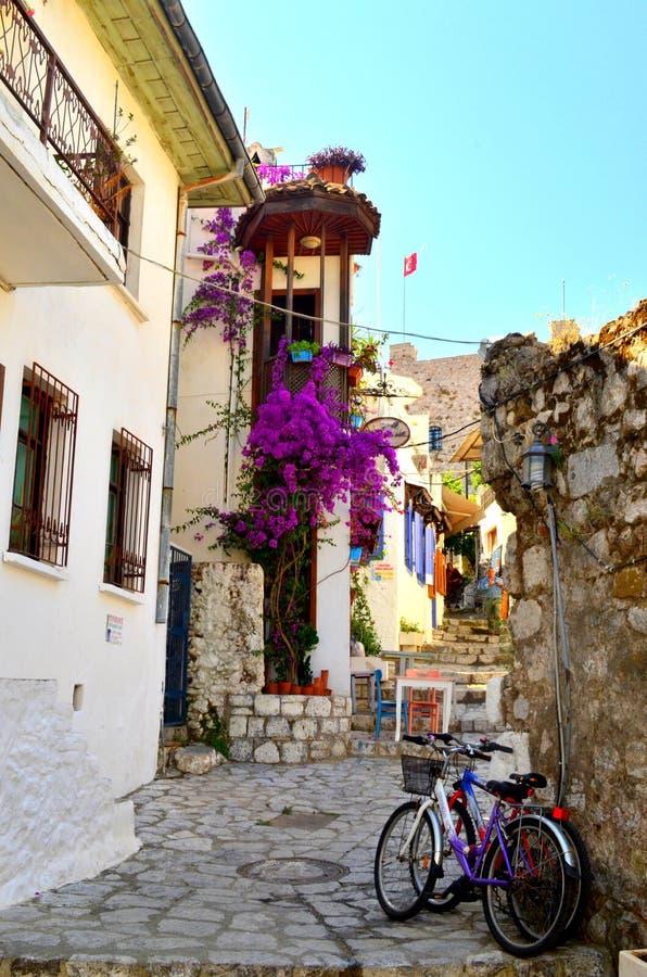 Cidade velha Marmaris Turquia foto de stock