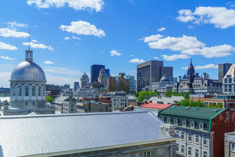 Cidade velha, Montreal imagens de stock royalty free
