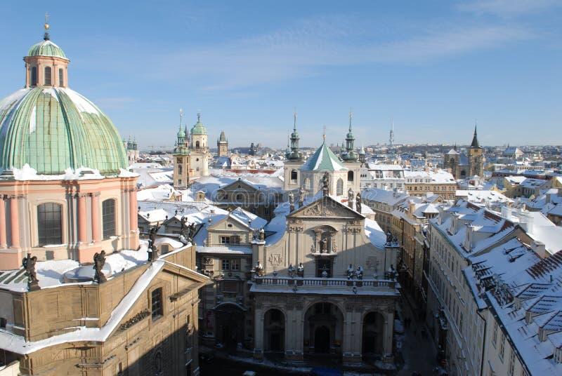 Cidade velha, Praga imagens de stock royalty free