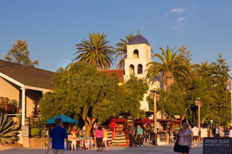Cidade velha San Diego foto de stock royalty free