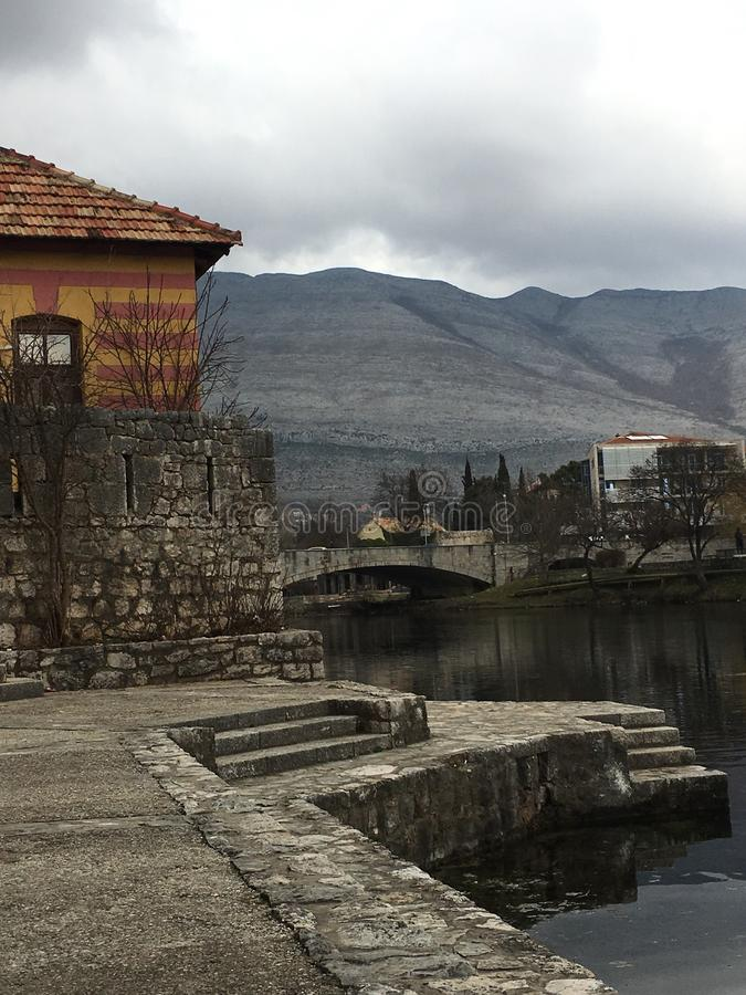 Cidade velha Trebinje imagens de stock royalty free