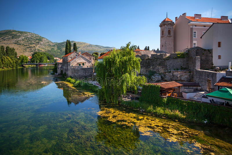 Cidade velha Trebinje fotos de stock royalty free