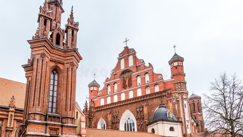 Cidade velha Vilnius Lituânia imagens de stock royalty free