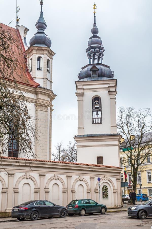 Cidade velha Vilnius Lituânia fotografia de stock
