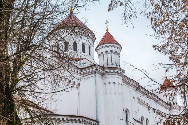 Cidade velha Vilnius Lituânia imagem de stock royalty free