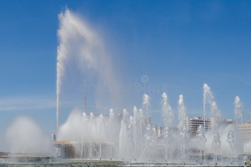 Cidades da capital de Brasil - de Brasília - de Brasil foto de stock royalty free