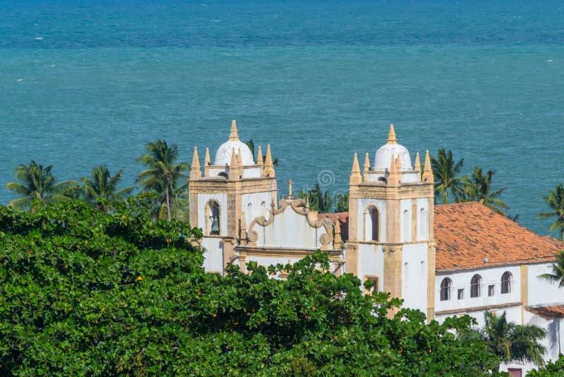 Cidades de Brasil - Olinda, estado de Pernambuco fotos de stock royalty free
