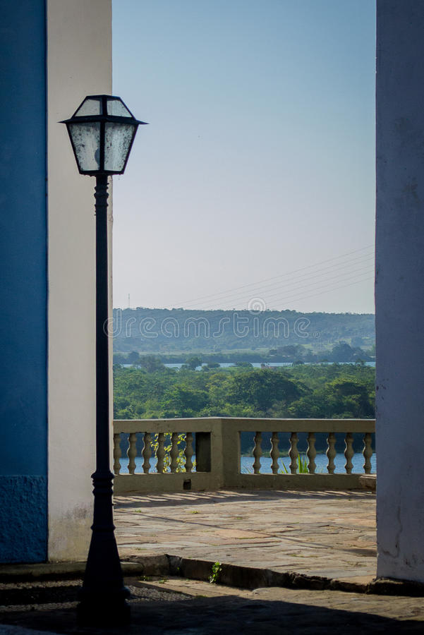 Cidades de Brasil - Penedo, Alagoas fotos de stock royalty free