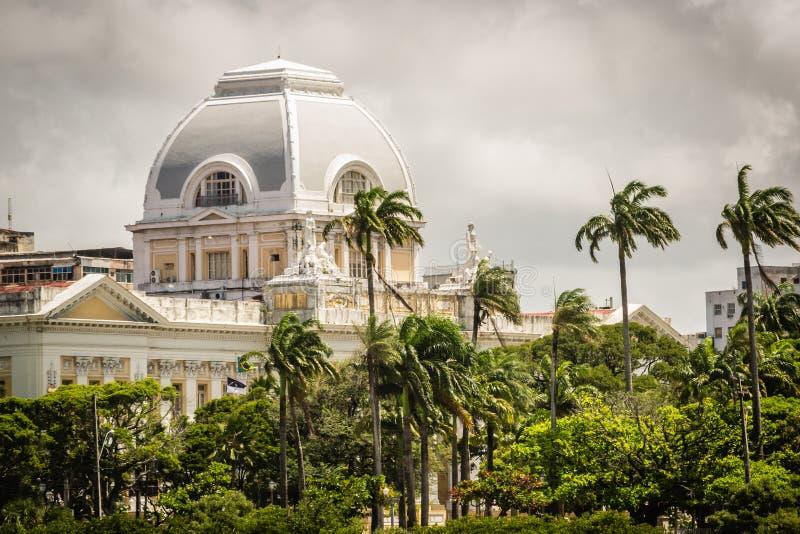 Cidades de Brasil - Recife, o capital de estado de Pernambuco imagem de stock royalty free