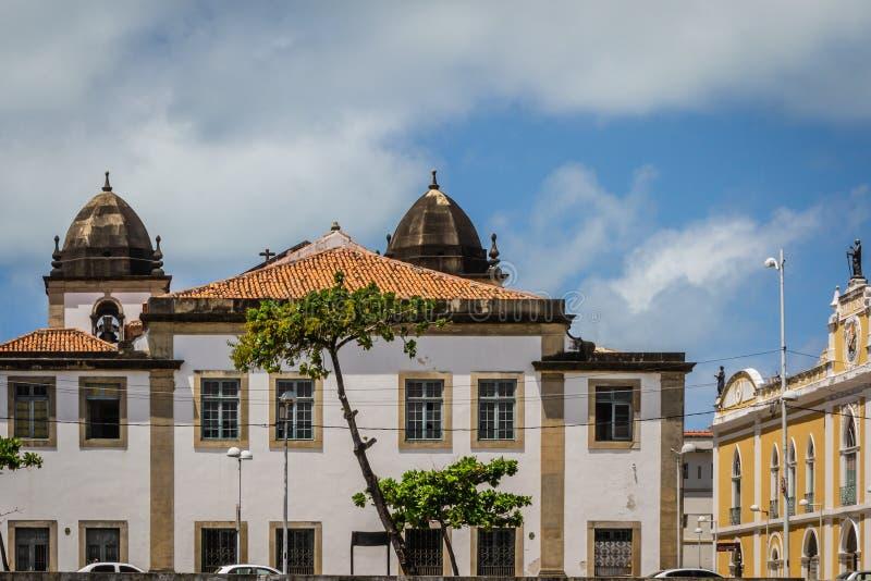 Cidades de Brasil - Recife, o capital de estado de Pernambuco imagem de stock