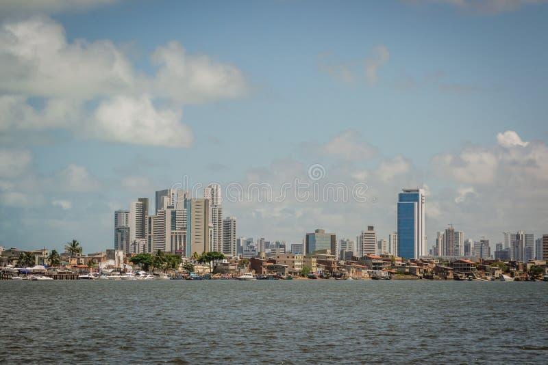 Cidades de Brasil - Recife, o capital de estado de Pernambuco fotos de stock royalty free
