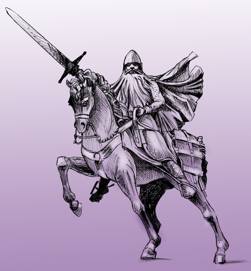 cidel-staty stock illustrationer