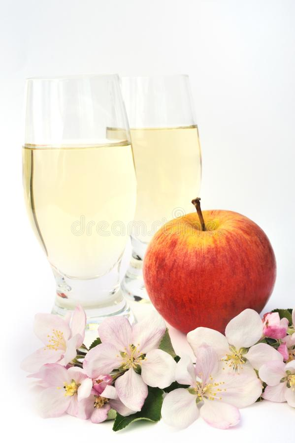 Cider And Apple - Still-life Royalty Free Stock Photo