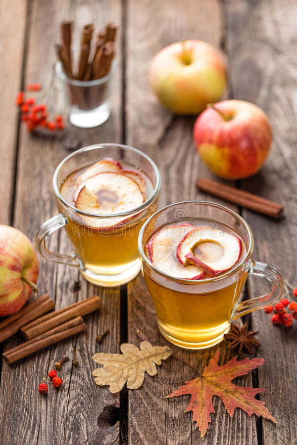 Cidre d'Apple photos libres de droits