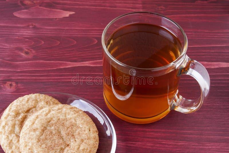 Cidre de pomme chaud photo stock