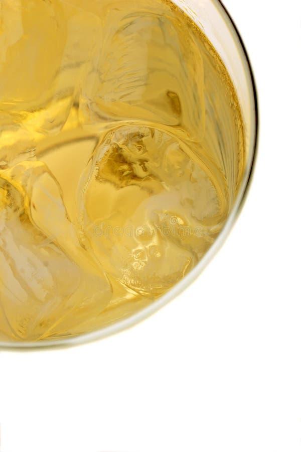 Cidre et glace image stock