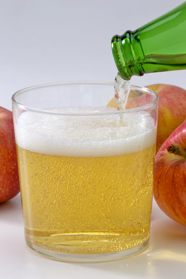 Cidre froid. photos stock