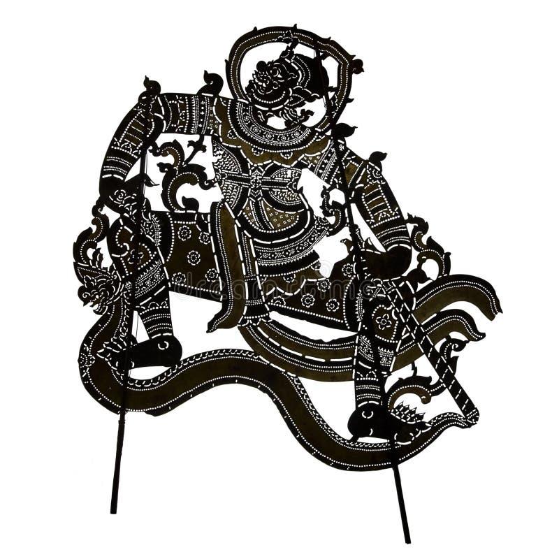 Cień kukły (Nang Talung) royalty ilustracja