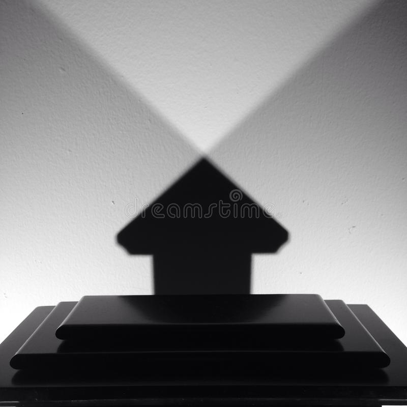 cień sztuka fotografia stock