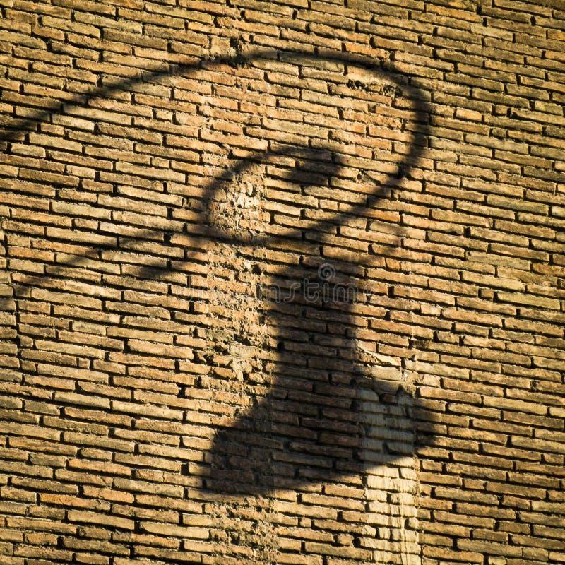 Cień Włoskie latarnie uliczne fotografia royalty free