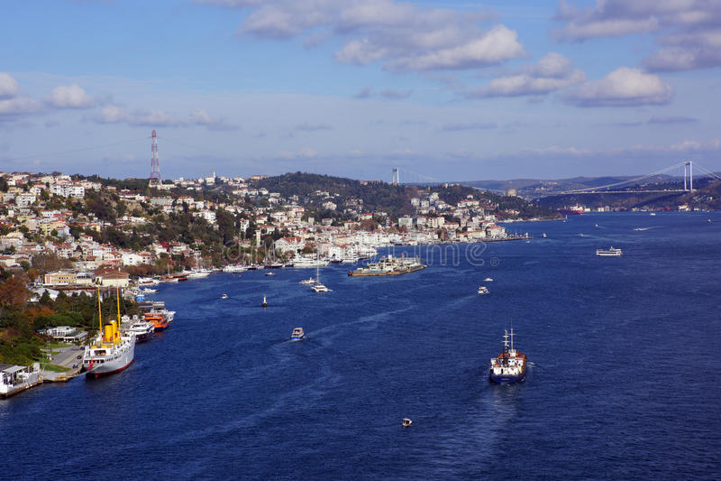 Cieśnina Bosphorus zdjęcie royalty free