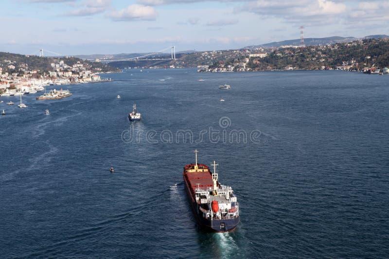 Cieśnina Bosphorus fotografia stock