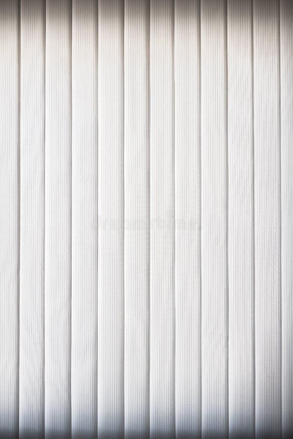 Ciechi bianchi di verticale immagine stock libera da diritti
