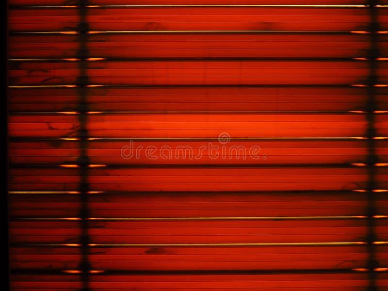 Ciechi di finestra con la luce del sole immagine stock libera da diritti