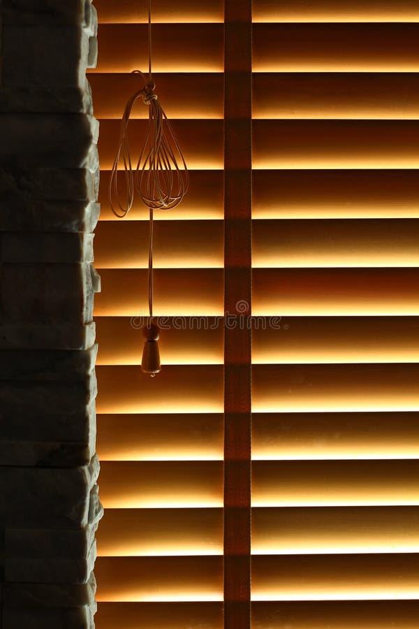 Ciechi di finestra di legno immagini stock libere da diritti