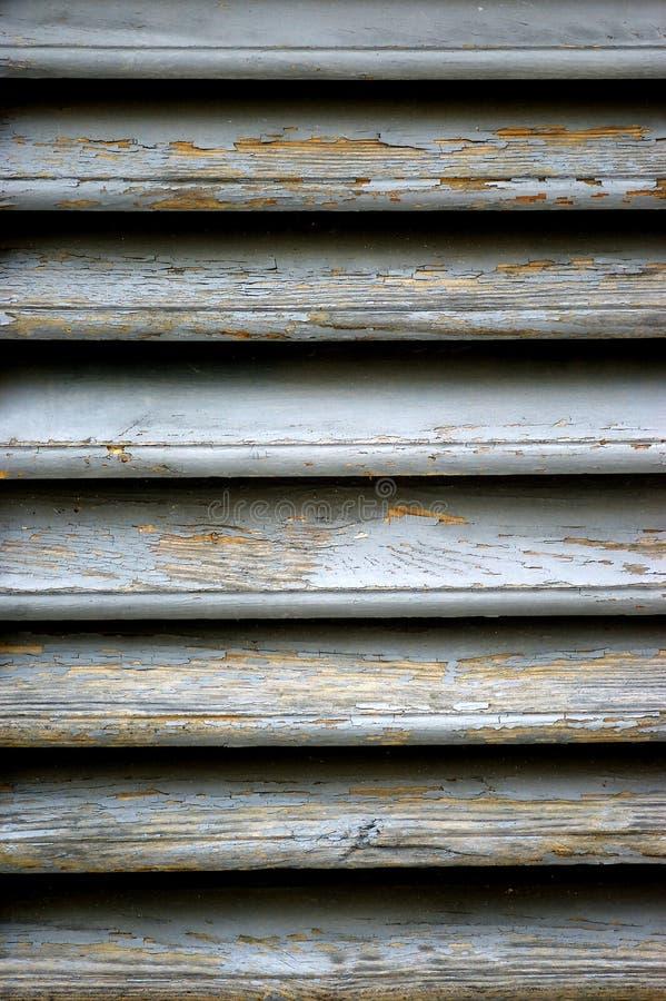 Ciechi di legno fotografia stock libera da diritti